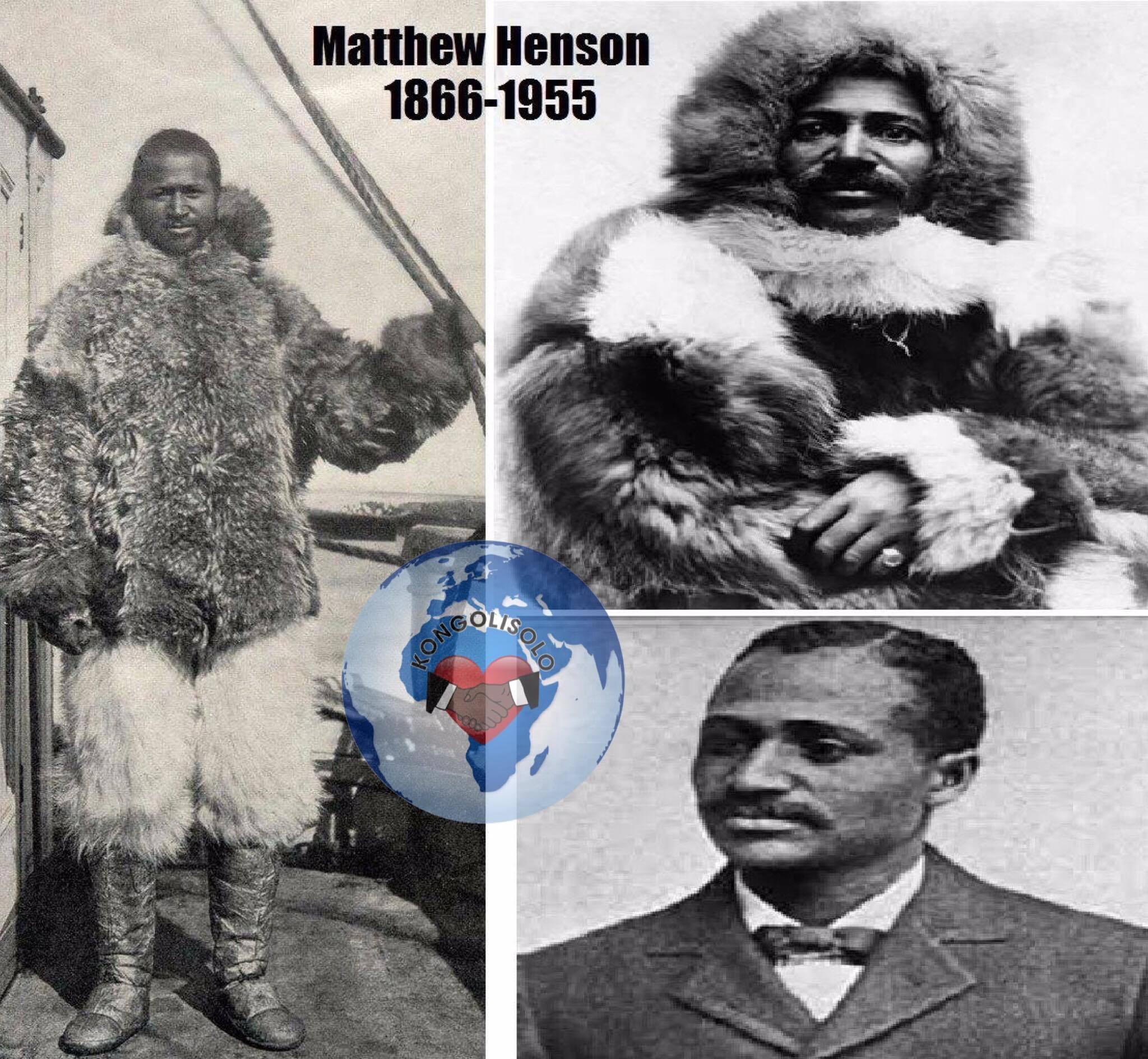 Un Afro - Américain! ... Matthew Henson. 1866 -1955