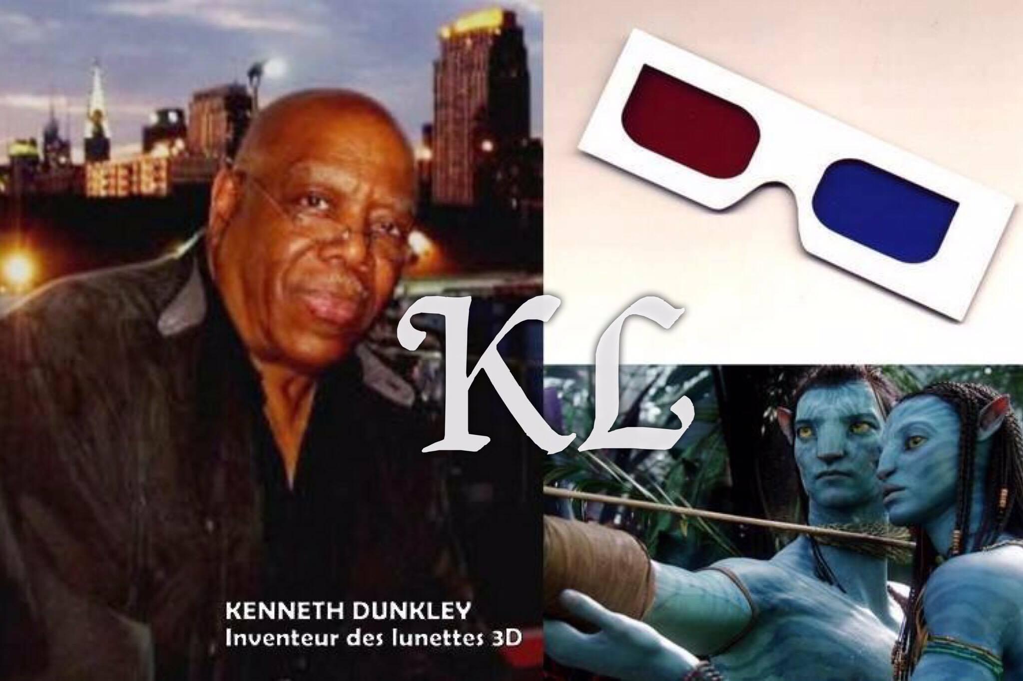 Kenneth Dunkley, inventeur des lunettes 3D