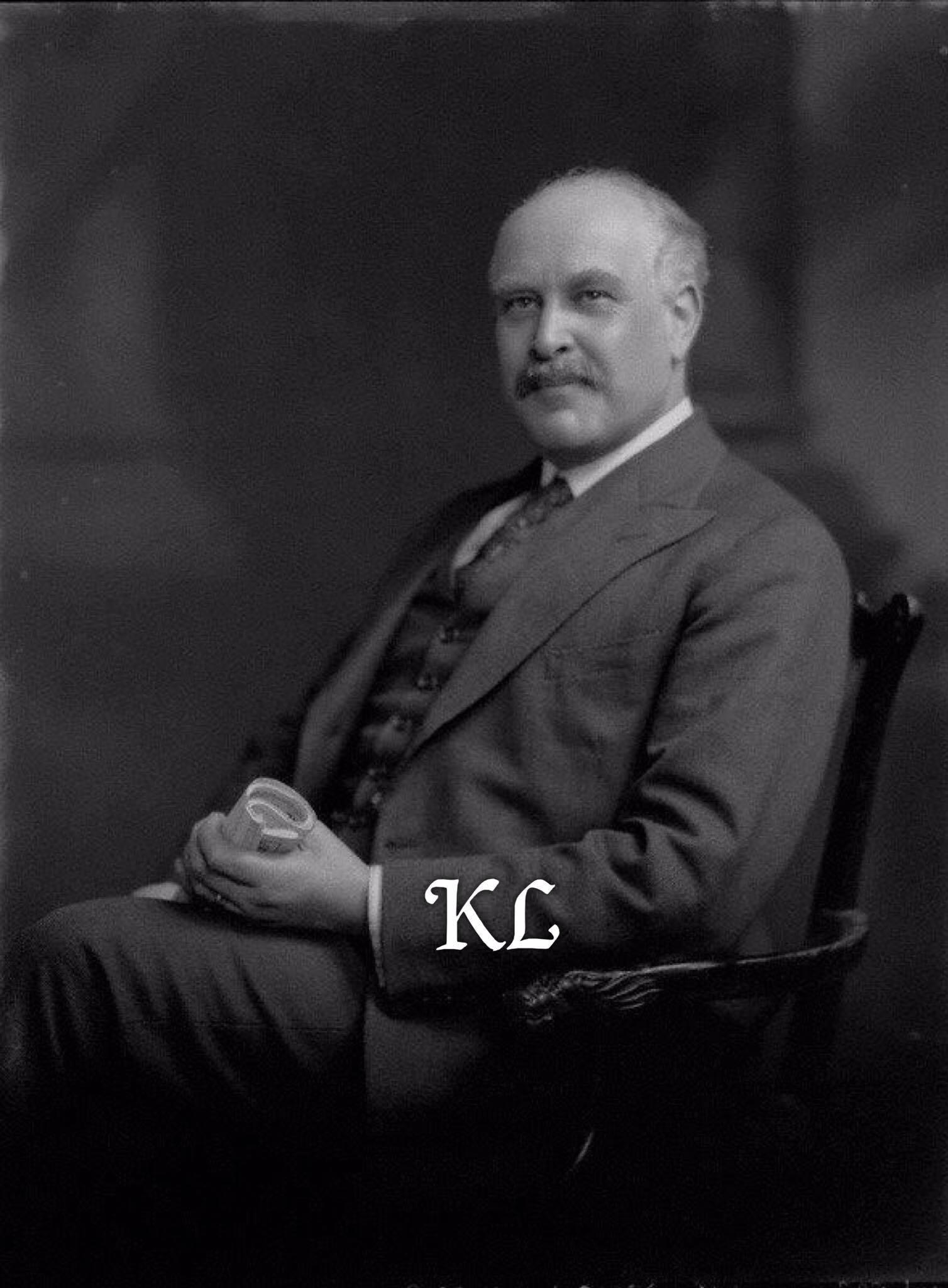 Sir Josiah Stamp, Directeur de la Banque d'Angleterre : 1880-1941 (Réputé 2e fortune d'Angleterre à cette époque 1920.)