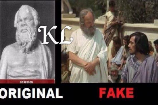 सुकरात (469 BC, 339 BC) अपनी खुद की काली उपस्थिति का वर्णन करता है: प्राचीन ग्रीस के दार्शनिक को नैतिक और राजनीतिक दर्शन के संस्थापकों में से एक माना जाता है