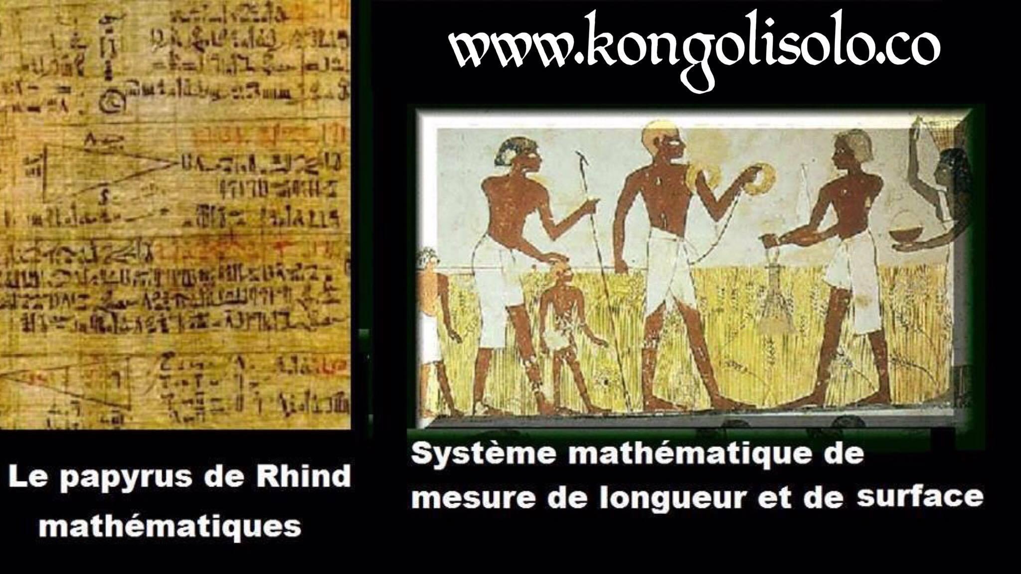 Héritage volé : les Africains ont offert au monde les maths, l'algèbre, la géométrie  et la trigonométrie ... Ce sont les Africains qui ont inventé les mathématiques