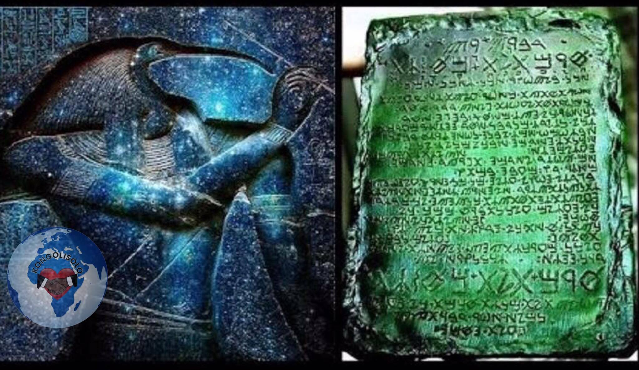 Les XV Tablettes de Thoth l'Atlante : la Table d'émeraude (Tabula Smaragdina en latin) est un des textes les plus anciens (certains disent qu'il a été écrit 30.000 ans avant JC, d'autres 5.000 ans avant JC) et célèbres de la littérature alchimique et hermétique (de Hermès chez les Grecs et Thoth chez les Égyptiens)