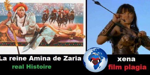 """Rèn Amina nan Zaria (Nijerya) ke yo rele tou """"Warrior Rèn"""", li se modèl la nan karaktè nan seri televizyon Xena a."""