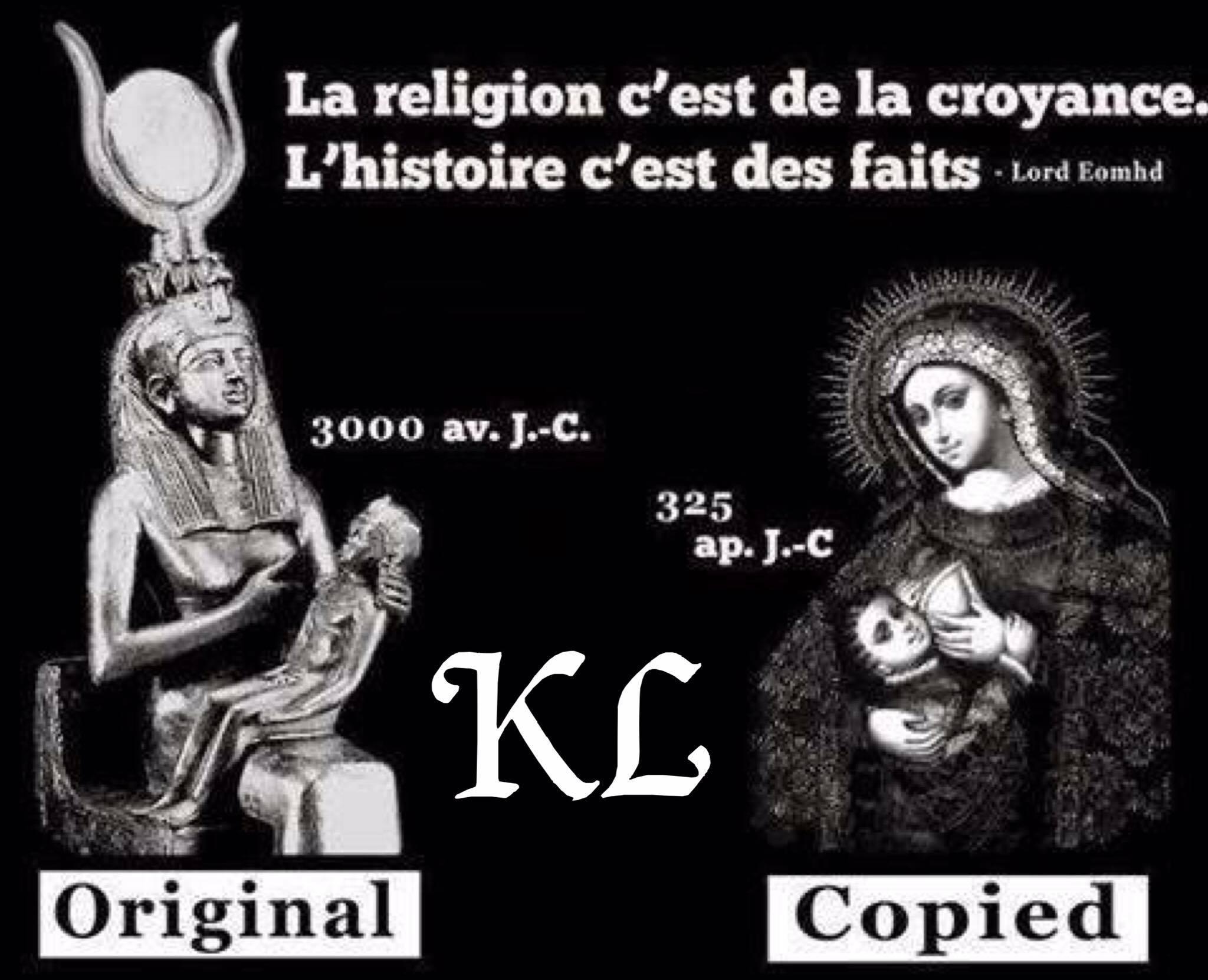 Jésus : une copie du dieu Horus