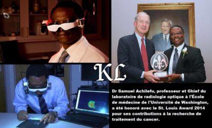 Samuel Achilefu : un génie inventeur africain des lunettes contre le cancer « Achilefu compte 27 chirurgies où sa technologie a été portée par les médecins qui mènent des opérations sur des patients atteints de cancer du sein, le cancer du foie et le mélanome »