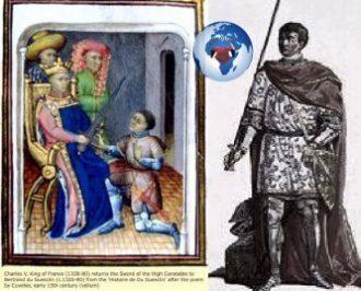 Un des grands mensonges de l'histoire de France (Bertrand Du Guesclin 1320-1380) Qui est cet homme ? ... Tout d'abord, il est le plus grand des guerriers français, un petit hobereau breton, devenu la grande figure de la guerre de Cent Ans