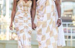 Un beau couple, à la mode africaine : le seul bémol, c'est ma sœur qui refuse de garder sa coiffure africaine, elle préfère les perruques brésiliennes