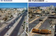 Soyons forts et unis frères et sœurs africains, un jour, tout ceci va changer : 2007 la Libye était sous la dictature de Kadhafi à gauche et en 2011 sous la démocratie euro-américaine à droite