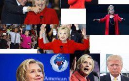 Elle porte du violet - rouge : BRANHAM a vu cette femme (Hillary Clinton), en vision en 1933 et cela s'accomplit devant nous : ... (VIDÉO)