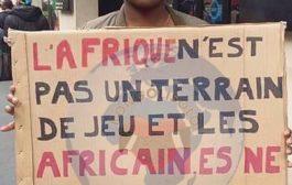 L'Afrique n'est pas un terrain de jeux et les Africains ne sont pas des jouets : tous les Africains devraient être  ... (VIDÉO)
