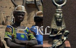 Les cornes sacrées de la mère divine africaine