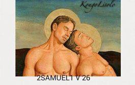 C'est quoi ça ? Serait-il l'homosexualité dans la Bible ??