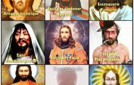 Une arnaque bimillénaire : lorsque le nom de Jésus est évoqué, c'est toute une série d'images, peintes autour de ce personnage, qui le vecteur de pas mal de clichés et de stéréotypes. Le christianisme donne un âge de plus de deux mille ans depuis sa naissance