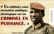 Un militaire sans formation politique, idéologique est un criminel en puissance : le réveil public est d'une nécessité impérieuse sur le Continent africain « Chaque africaine et chaque africain doit absolument regarder et partager cette vidéo » ... (VIDÉO)