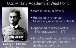 Henry O. Flipper : Premier Afro-Américain officier (noir) sorti de west point