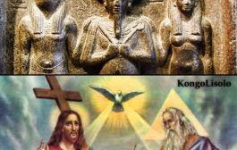 """ईसाई धर्म अफ्रीकी आध्यात्मिकता का एक बड़ा उदाहरण है: ईसाई धर्म अपने तरीके से फिर से शुरू होता है, """"त्रिमूर्ति"""" की अवधारणा ... """"ओसिरियन त्रय स्त्रैण और मर्दाना सिद्धांतों के मिलन को दर्शाता है"""""""