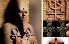 De la croix Ankh à la croix Romaine : sous Constantin ; les adeptes de la nouvelle foi n'ont pas grand chose à changer pour faire considérer la religion chrétienne et la spiritualité égyptienne (africaine)