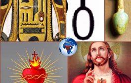 Du Néfer au Sacret Coeur : le cœur de l'être divin perpétuellement bon (wounennefer) le symbole en Egypte de perfection, beauté, bonté [Néfer ] en langue africaine signifiant littéralement « Le beau »