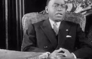 Devoir de mémoire : l'avenir politique de l'Afrique selon Houphouet Boigny en 1961 ... (VIDÉO)