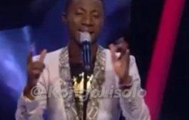 Il n'est pas congolais, mais son interprétation de la chanson « Associe de Fally Ipupa » vraiment juste un grand bravo à lui ... (VIDÉO)