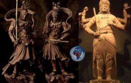 NIO The (仁王) sidoo kale loo yaqaan Kongo-rikishi (金剛 力士) waa labada Buddhist ilaahyo macbudyo masuulka Japanese rakibay dhinac kasta oo laga galo ugu weyn