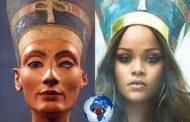Princesse Rihanna accusée d'appropriation culturelle pour cette couverture de « Vogue Arabia » : Princesse Rihanna a porté un symbole, un chapeau de ses ancêtres, mais les pilleurs, violeurs, voleurs des Arabes se plaignent du propriétaire ... Vraiment depuis quand l'Égypte «Kamite» de nos ancêtres est devenue arabes ?