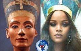 """Princess riana akize de afektasyon kiltirèl pou sa a kouvri nan """"lamòd Arabi"""": Princess riana te mete yon senbòl, yon chapo nan zansèt li yo, men piyar, vyole, vòlè nan Arab yo pote plent sou mèt kay la ... Vrèman depi lè a Peyi Lejip """"Kamite"""" nan zansèt nou yo te vin Arab?"""