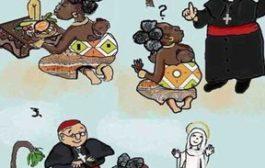 Voici les genres de vidéos que les Nègres (africains) aiment suivre, écouter et croire : les dires d'un aventurier blanc qui leur explique le soi-disant plan de Dieu pour l'Afrique et ils y croient ... (VIDÉO)
