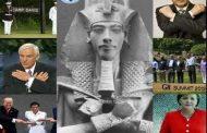 Camp David ne se réfère pas au roi David, il se réfère en fait au « David, ou aux Commandeurs d'Aton », autrement dit à la soi-disant lignée biologique, mais ssurtout aux anciens préceptes d'Akhenaton idéologiques dont la connotation secondaire du mot signifie également « Diviser » afin de représenter les Atonistes qui ont été historiquement connus comme des experts dans la création de divisions et parce que « Diviser, pour régner » a toujours été à la fois une devise et une méthode adaptées à leur guerre interminable, pour la domination Mondiale