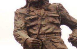 Dedan Kimathi Waciuri : leader des Mau Mau qui a mené une lutte armée militaire connu sous le soulèvement Mau Mau contre le gouvernement colonial britannique au Kenya dans les années 1950