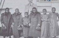 Le premier Pygmée parisien Congolais (Batsua de l'Equateur), emmené à Paris en 1905 par l'aventurier anglais James Jonathan Harrison