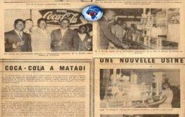 Congo le 25 mai 1961 : inauguration d'une nouvelle usine Coca-Cola à Matadi ... En présence de plusieurs personnalités dont Mrs S. Konde, Administrateur de territoire ; Trullemans, Administrateur Délégué de la Société de Boisssons de Matadi ; et B. Laporte, délégué de la Coca-Cola Export Corporation