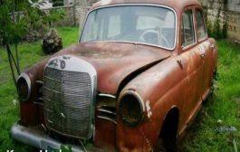 La dernière Mercedes de « Joseph Kasavubu » premier président du Congo (nous devons construire notre propre musée au Congo)