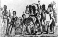 """संयुक्त राज्य अमेरिका में: """"काटो षड्यंत्र"""" ... जेम्मी, कोटो भी कहा जाता है, जो कि एक साक्षर दास है, शायद कोंगो साम्राज्य से, लगभग साठ साजिशकर्ताओं के साथ गुलाब, फ्लोरिडा को फिर से हावी करने के लिए स्पैनिश, जिसने उन्हें स्वतंत्रता का वादा किया था"""