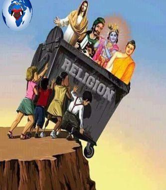 Les plus grandes tragédies en Afrique sont causées à 95% par toutes ces religions importées ... Dans l'espoir de rester unis et de construire le continent africain pour une paix durable, le devoir de tout jeune Africain est de prendre conscience de la situation