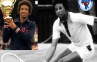 "Arthur Ashe: born July 10, 1943 and at the age of 20 obtained a scholarship opening the doors to the United States national tennis team, ""He is the first African-American in the history of tennis to participate in the cup. Davis'"