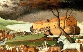 Idyo Konsep nan relijyon Abrahamic: Inondasyon an se yon istwa nan dòmi, se konsa Bondye mande Noe pote nan batiman an yon koup la chak espès bèt yo.