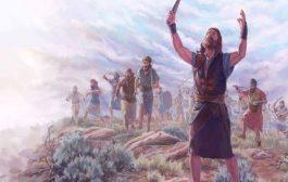 Concepts des religions abrahamiques, Josué demande au soleil de s'arrêter : Le jour ou l'Éterne livra les Amorites à l'armée d'Israël, Josué adressa une demande à l'Éternel en présence de tous les Israélites « Il s'écria » Soleil, arrête-toi au-dessus de Gabaon & Lune, immobilise-toi sur le val d'Ayalon