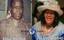 Célébration de la mort de Maman Olangi : on a toujours vu qu'à la mort d'une personne, quels que soient ses défauts, les gens regrettent souvent surtout en tant que Bantous, mais à la mort de Maman Olangi, on dirait les gens sont libérés et sont en pleine joie ... (VIDÉO)