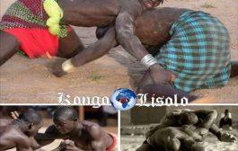 Le líbanda est une forme de lutte pratiquée par les Mongos en RDC qui permettait, à l'origine, de mesurer, tout en se divertissant, la valeur et l'adresse des guerriers