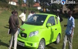 ओंगडा: युगांडा के मेकर यूनिवर्सिटी के 25 छात्रों के समूह ने देश का पहला इलेक्ट्रिक वाहन बनाया