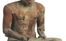 Ptah-Hotep Enseignement : enseignement du directeur de la ville, le vizir Ptah-Hotep, sous la majesté de celui du jonc et de l'abeille, Isesi, qu'il vive selon l'éternité des cycles et l'éternité de l'instant, le directeur de la ville, le vizir Ptahhotep il dit ...
