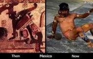 L'origine inconnue du football : quand les Dogons ont navigué vers les Amérique, ils ont découvert des terres connues autrefois comme « Utla » Signifiant « Terre des Grenouilles »; d'où est tiré le mot Atlantique