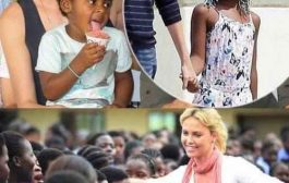 La méchanceté des blancs: « Les blancs sont vraiment méchants » Cette actrice soi-disant Sud-Africaine/ Américaine « Charlize Theron » Va souvent en Afrique adopter des petits garçons pauvres et les transforme en filles quand ils arrivent Amérique