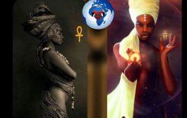La Mère noire est l'Ankh : l'Ankh est le symbole le plus Sacré de la Vie parce qu'il est le symbole de la Femme enceinte