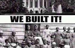 सफेद घर, जहां काला घर? तथाकथित सफेद घर वास्तव में काला होगा, क्योंकि यह अश्वेतों ने बनाया था