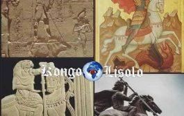 """सेंट जॉर्जेस: """"एक और ईसाई नकली"""" केईएमईटी (फैरोनिक मिस्र) के कई स्मारक हमें एक मगरमच्छ या एक हाइपोपोटामस (... )"""
