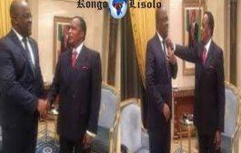 Devoir de mémoire: Le fils d'Étienne Tshisekedi (Felix T Tshisekedi) était allé au Congo-Brazza pour apprendre auprès du Président Denis Sassou Nguesso