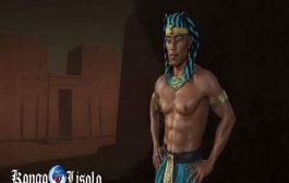 Les exploits et les bienfaits d'Osiré: Furent accompagnés dans ses voyages par plusieurs grands Hommes qui ont été ajoutés au nombre des dieux qui, selon la tradition; étaient accompagnés de ses deux fils « Anubis et Macédon »
