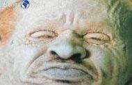 Voici la tête du roi ghanéen Badu Bonsu II : Badu Bonsu II a été lynché puis décapité par les colons néerlandais en 1838 ensuite conservées dans le formol